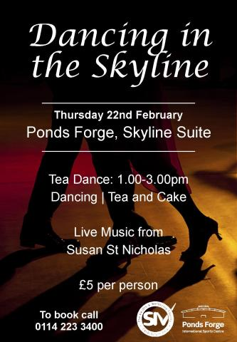 Ponds Forge Tea Dance Feb 18