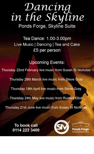 Ponds Forge Tea Dance Feb-June 18